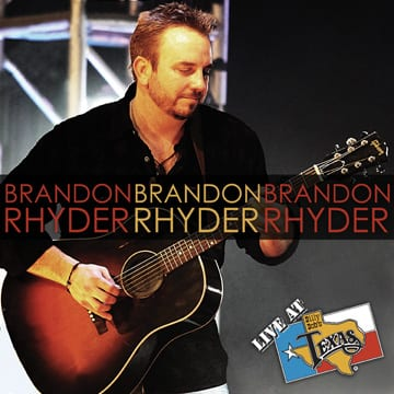 THE LATEST LIVE AT BILLY BOBS RECORDING FEATURES THE INNOVATIVE BRANDON RHYDER, WHO WILL APPEAR AT RANCH BASH 2011 ON SATURDAY