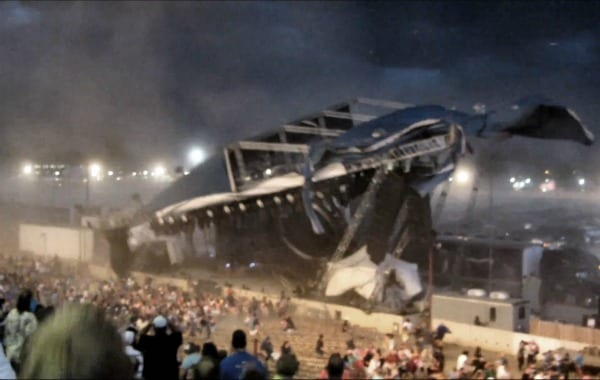 Indiana State Fair stage collapse on July
