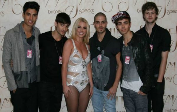 Britney Spears with The Wanted
