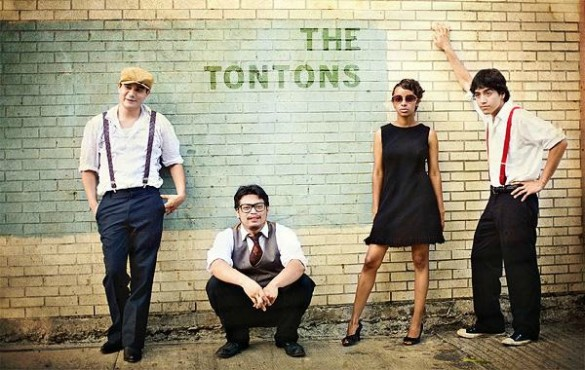 The Tontons at Free Press Summerfest