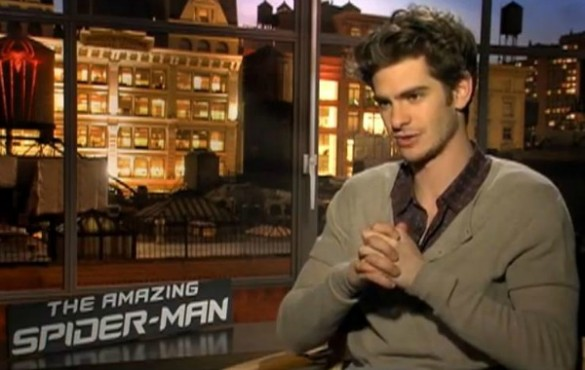 Andrew Garfield Spider-Man Interview