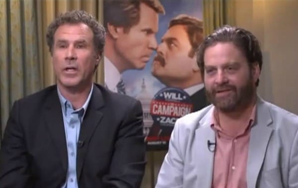 The Campaign on Jake's Takes with Will Ferrell and Zach Galifianakis