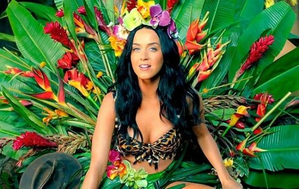 Katy Perry Goes Wild In Roar Music Video Backstageol Com