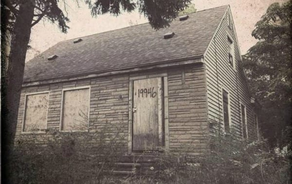 Eminem childhood home