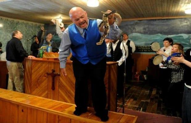 Snake Salvation Church Pastor Get Bitten After Father' Death