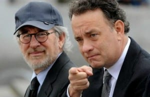 Tom Hanks and Steven Spielberg