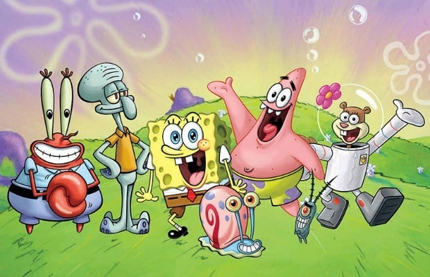 SpongeBob SquarePants Is Moving On Up And Out Of The Water In Paramount Animation Nickelodeon Movies Newly Released Trailer For Movie
