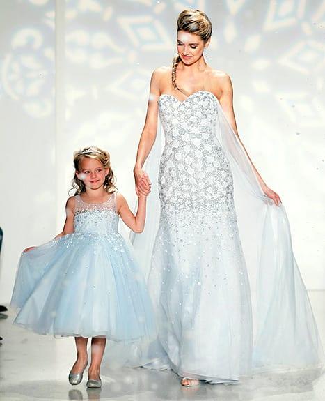 Go inspired elsa white wedding dresses exclusive photo