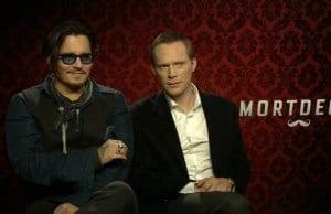 Johnny Depp stars as Charlie Mortdecai