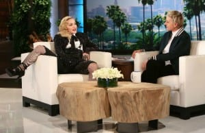 Madonna Lets It All Out on Ellen