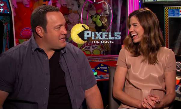 Kevin James and Michelle Monaghan