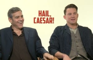 George Clooney & Channing Tatum in Hail, Caesar!