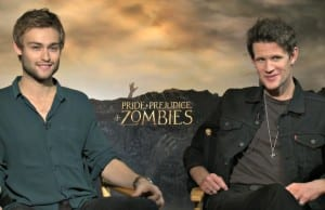 Pride + Prejudice & Zombies Matt Smith & Douglas Booth