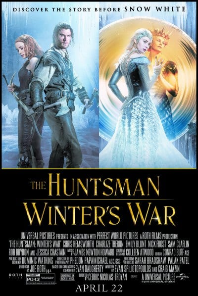 THE HUNTSMAN Winters War poster