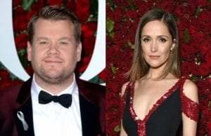 James Corden & Rose Byrne To Star In Sony's 'Peter Rabbit'