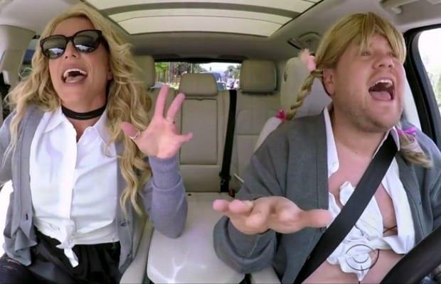 Britney Spears: Carpool Karaoke Was 'Fun' & 'Awkward'