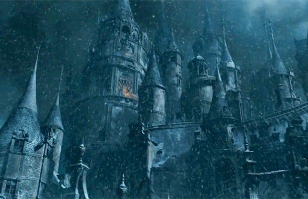 Watch Emma Watson & Dan Stevens in 'Beauty & the Beast ... Beauty And The Beast Castle