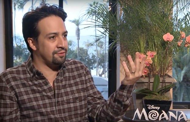 Lin-Manuel Miranda Talks 'Moana' & Working With Dwayne Johnson