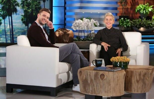 Watch: Justin Timberlake Corrects Ellen DeGeneres