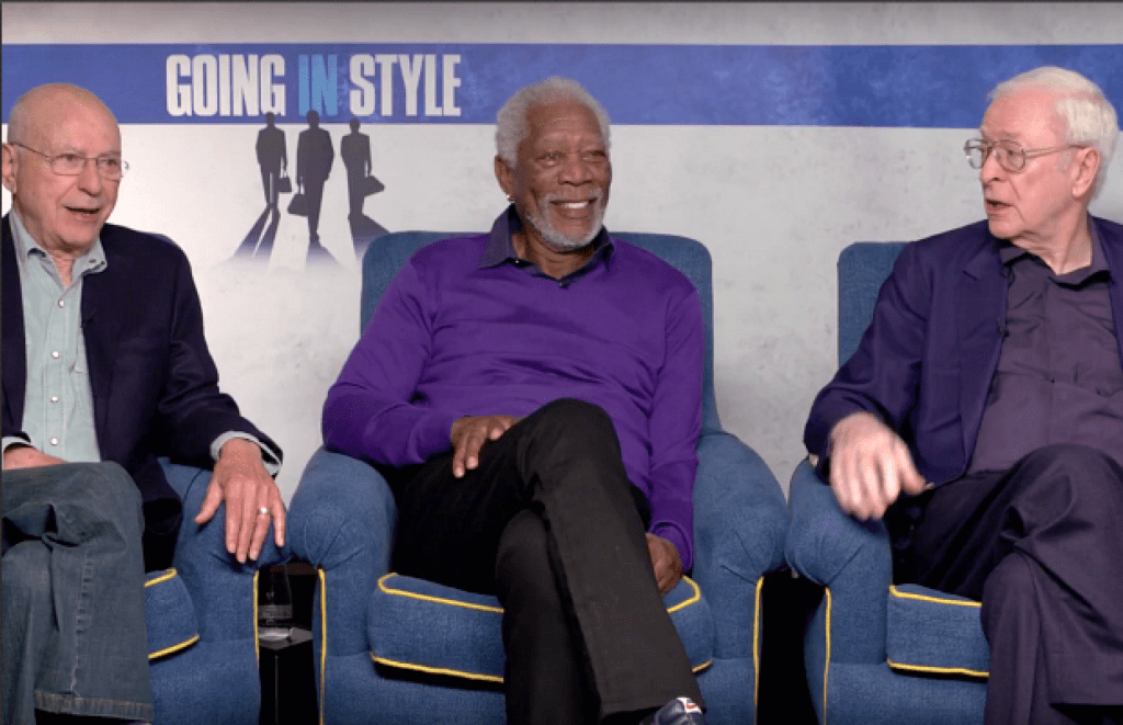 Wallpaper Going In Style Morgan Freeman Alan Arkin: Legends Morgan Freeman, Michael Caine & Alan Arkin Talk