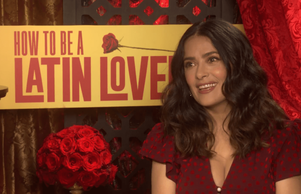 Salma hayek ad libbed on how to be a latin lover backstageol backstageols dave morales sat down with salma hayek in this backstage interview to talk about the upcoming comedy how to be a latin lover directed by ken ccuart Image collections