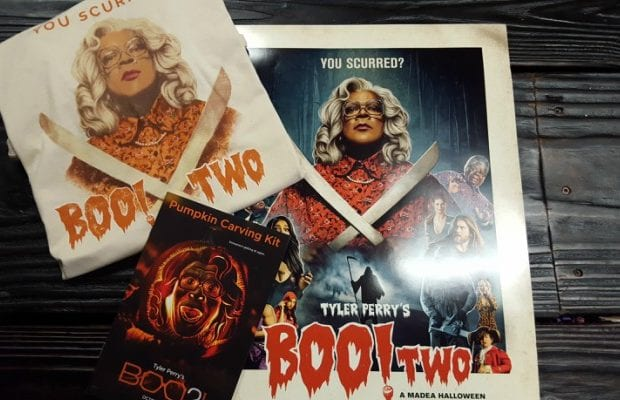 WIN a TYLER PERRY'S BOO 2! A MADEA HALLOWEEN Prize Pack ...